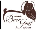 British Boer Goat Society Logo